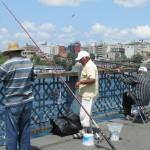 Fisherman at the galata bridge